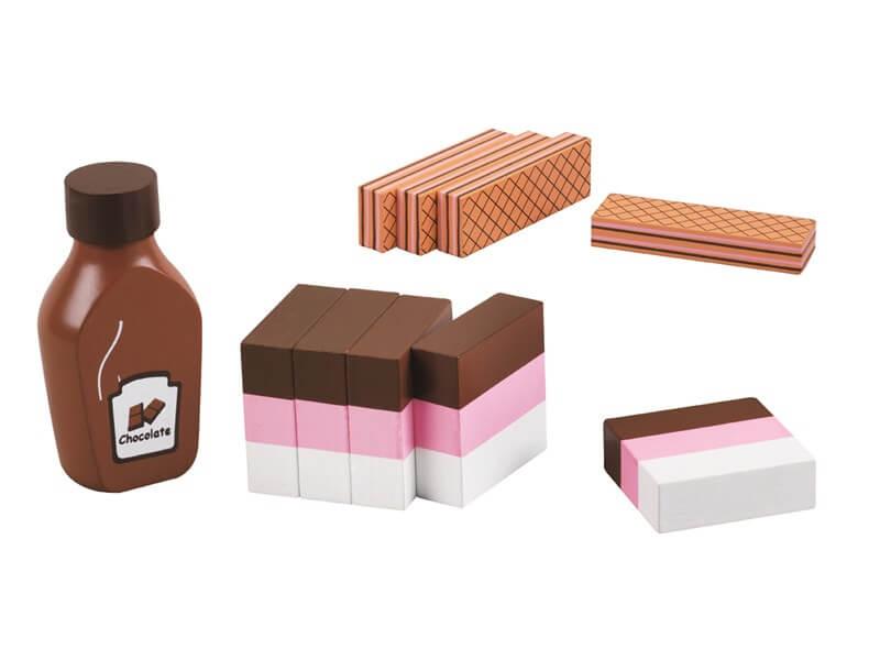 85053 3 farget is med sjokolade